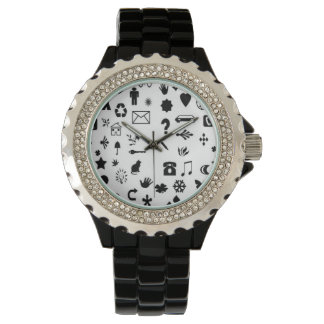 Rich looking watch with classic Diamond.