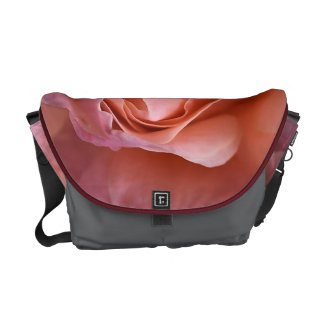 Rich Lush Rose Medium Messenger Bag Outside Print