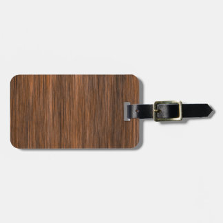 Rich Multigrain Cottage Wood Luggage Tag