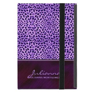 Rich Purple Cheetah Print Custom iPad Mini Covers