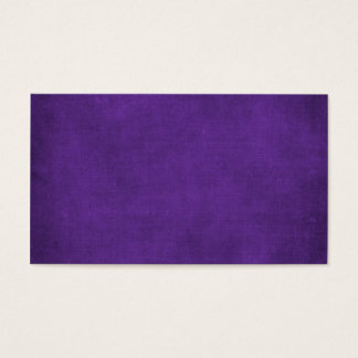 RICH PURPLE ROYAL VELVET GRUNGE PAPER CANVAS TEMPL BUSINESS CARD