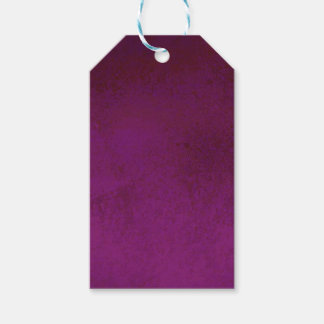 RICH PURPLE VELVET GRADIENT BACKGROUND GIFT TAGS