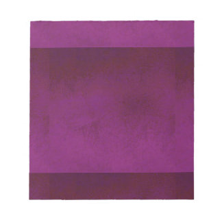 RICH PURPLE VELVET GRADIENT BACKGROUND NOTEPAD