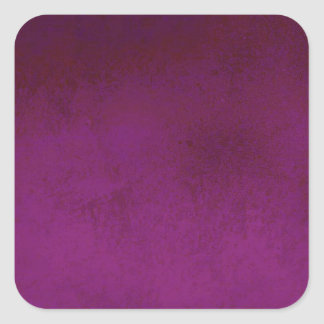 RICH PURPLE VELVET GRADIENT BACKGROUND SQUARE STICKER