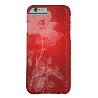 Rich Red Rose Barely There iPhone 6 Case