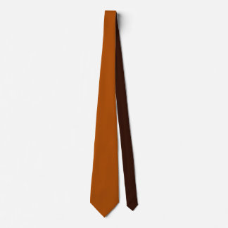 Rich sienna brown color ready to customize tie