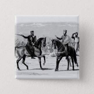 Richard and the Master of St. John 15 Cm Square Badge