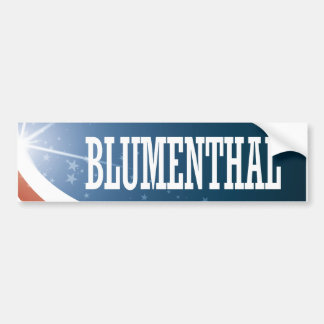 Richard Blumenthal 2016 Bumper Sticker