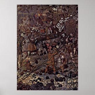 Richard Dadd - The Fairy Fellers Master-Stroke Poster