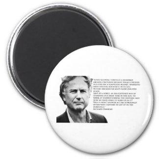Richard Dawkins 6 Cm Round Magnet