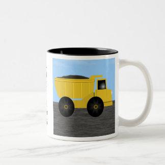 Richard Dump Truck Personalized Name Mug