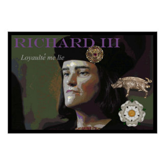 Richard III by an unknown painter Poster