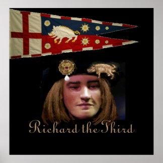 Richard III is smiling! Poster