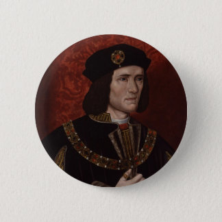 Richard III of England 6 Cm Round Badge