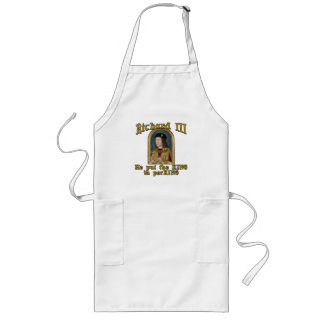 Richard III Put the King in ParKING tshirt Long Apron