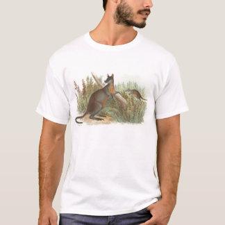 Richard Lydekker - Black-Tailed Wallaby T-Shirt