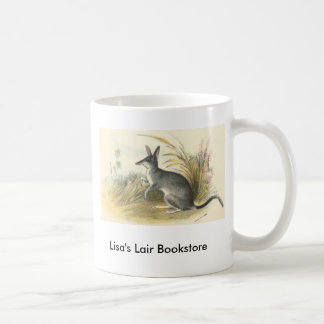 Richard Lydekker - Rabbit Bandicoot - Bilby Promo Coffee Mug
