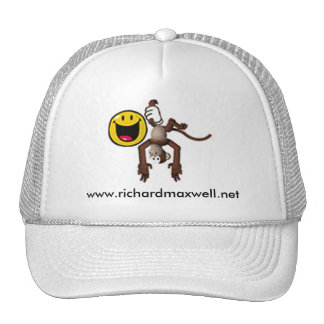 Richard Maxwell monkey hat