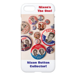 Richard Nixon Button Collector iPhone 7 Case