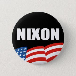 RICHARD NIXON Election Gear 6 Cm Round Badge