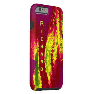 Richard Reddish Style iPhone case