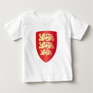 Richard the Lion Heart Shield in red+faux gold T Shirts