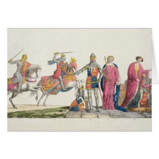 Richard the Lionheart, John of Gaunt, Edward III, Card