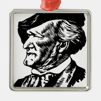 Richard  Wagner Metal Ornament