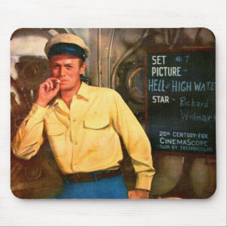 Richard Widmark ad for Hell and High Water Mouse Pad
