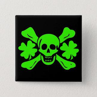 Richard Worley-Shamrock 15 Cm Square Badge