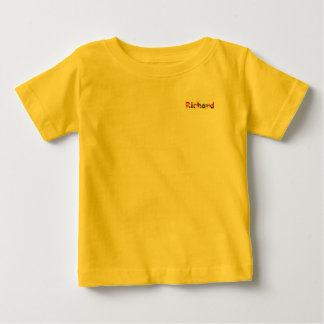 Richard yellow Baby Fine Jersey T-Shirt
