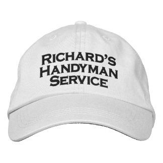 Richard's Handyman Service Embroidered Hat