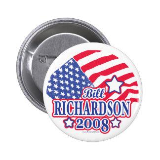 Richardson 2008 Button