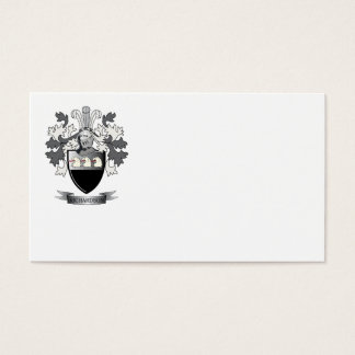 Richardson Coat of Arms Business Card