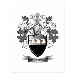 Richardson Coat of Arms Postcard