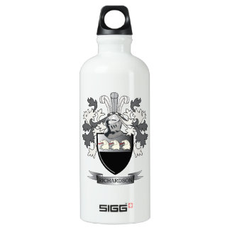 Richardson Coat of Arms Water Bottle