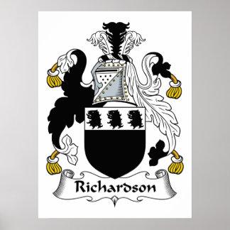 Richardson Family Crest Poster