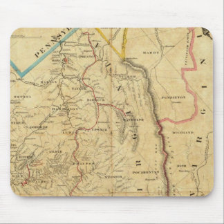 Richardson's Map of West Virginia Mouse Pads