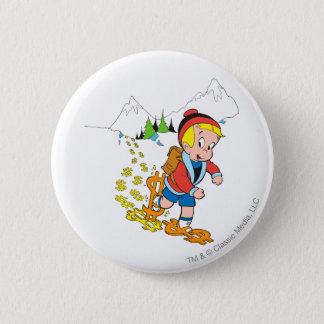 Richie Rich Hiking - Color 6 Cm Round Badge
