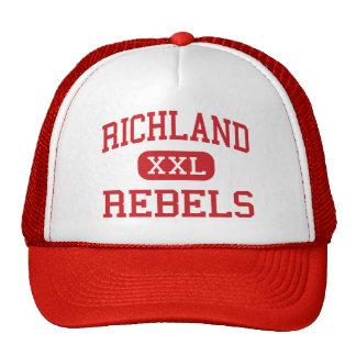 Richland - Rebels - High School - Essex Missouri Cap