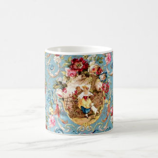 Richloom Fragonard Cornflower Blue French Country  Coffee Mug
