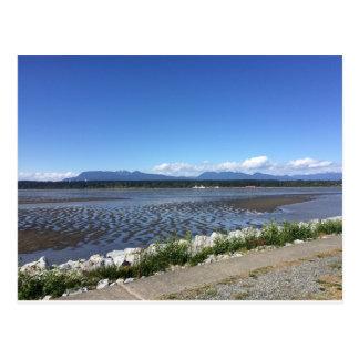 RICHMOND BC Mountain and Ocean Postcard