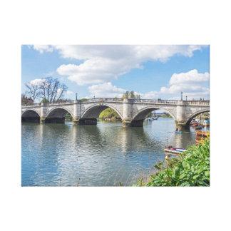 Richmond Bridge London canvas print