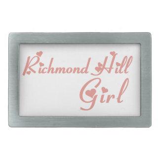Richmond Girl Rectangular Belt Buckle