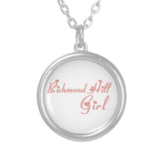Richmond Girl Silver Plated Necklace
