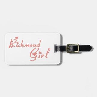 Richmond Hill Girl Luggage Tag