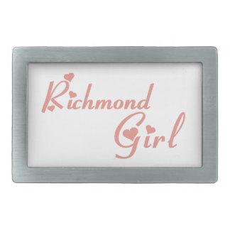 Richmond Hill Girl Rectangular Belt Buckles