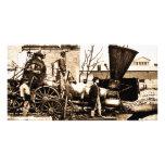 Richmond & Petersburg RR Ruins Richmond VA April 1 Customized Photo Card