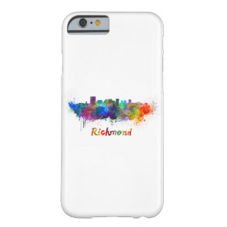 Richmond skyline in watercolor barely there iPhone 6 case