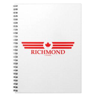 RICHMOND SPIRAL NOTEBOOK